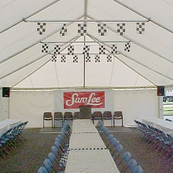 Expandable Frame Tent Rentals in Hampton Roads VA