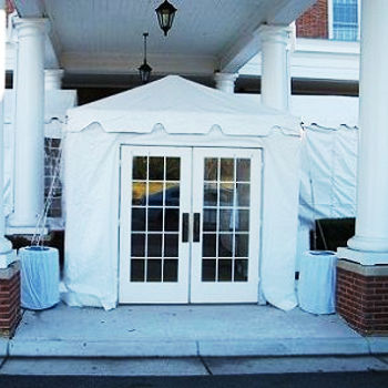 Walkway Tent Rentals in Hampton Roads VA