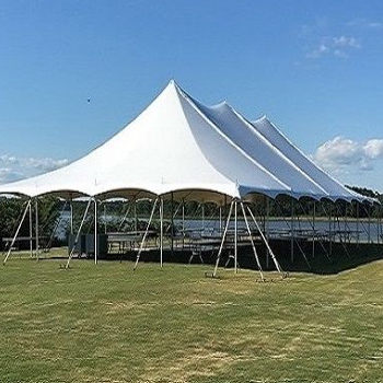 Pole Tent Rentals in Hampton Roads VA