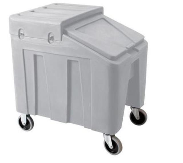 Where to find Rolling Ice Bin, 75 lb Capacity in Virginia Beach