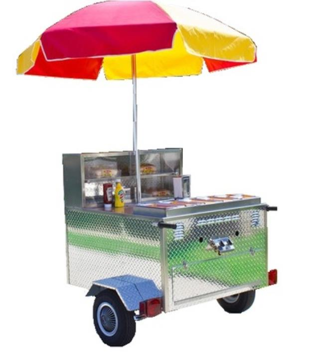 Where to find Stainless Steel Hot Dog Cart w propane in Virginia Beach