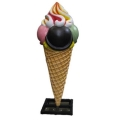 Rental store for Large Ice Cream Cone Statue in Virginia Beach VA