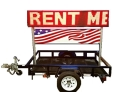 Rental store for LED Sign Trailer 16  x 76 in Virginia Beach VA
