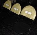 Rental store for Gold VIP Chair Tops, Rounded in Virginia Beach VA