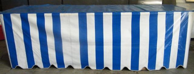 Where to find Tablecover, Blue and White for 8 in Virginia Beach