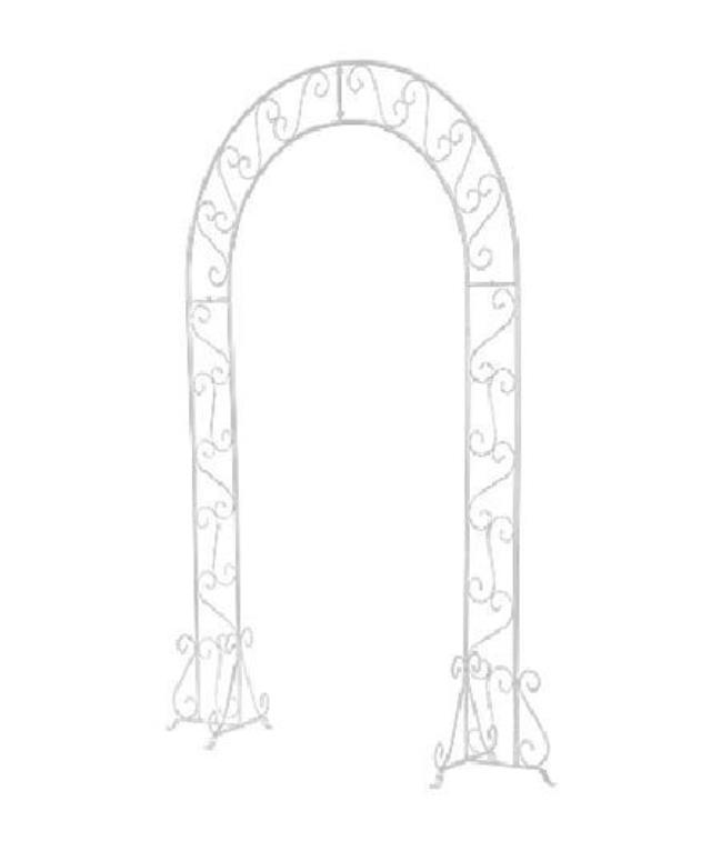 Where to find Wedding Arch White Metal in Virginia Beach