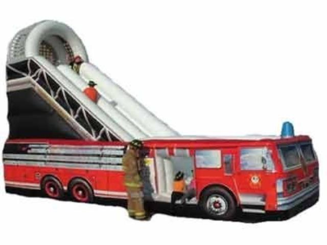 Where to find Fire Truck Slide with attendant in Virginia Beach