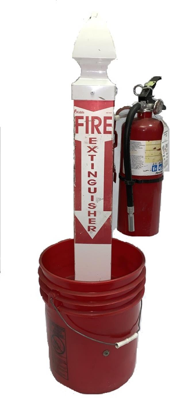 Where to find Fire Extinguisher Stand in Virginia Beach