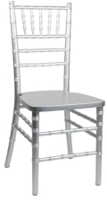 Rental store for Silver Chiavari Chair in Virginia Beach VA