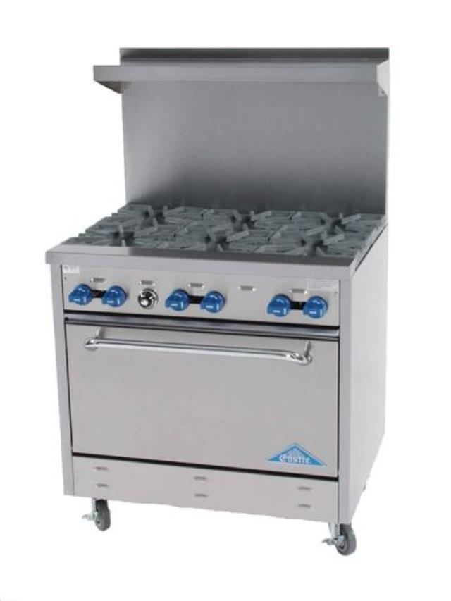 Where to find 6 Burner Stove and Oven, Propane in Virginia Beach