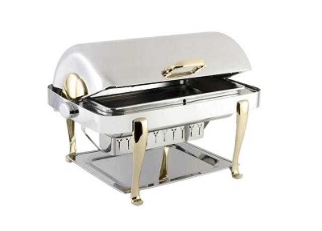 Where to find Chafing Dish, 8 qt Roll Top Heavy Weight in Virginia Beach