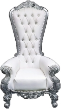 Rental store for Queen Anne Throne Chair in Virginia Beach VA